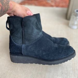 Ugg Kristin ankle wedge boots